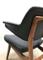 vintage Dutch design armchair easy chair Webe Louis van Teeffelen