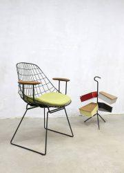 Midcentury vintage design wire chairs draadstoelen Pastoe Cees Braakman