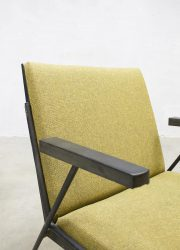 midcentury Dutch design Wim Rietveld lounge chairs Oase stoelen