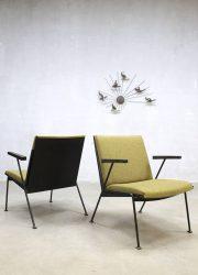 Vintage Dutch design Oase lounge chairs stoelen Wim Rietveld