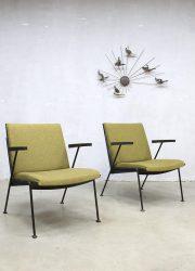 Dutch design lounge chairs Oase Wim Rietveld fauteuils Dutch design oase chair