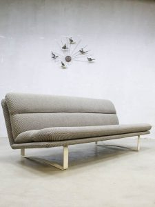 Vintage midcentury design bank sofa Artifort Kho Liang Le model C684