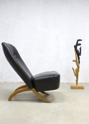 Midcentury vintage Dutch design congo lounge chair fifties fauteuil Theo Ruth Artifort