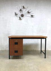 Vintage design japanse serie bureau buro writing desk Cees Braakman Pastoe