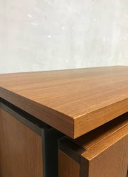 retro vintage teak houten bureau desk Pastoe Cees Braakman