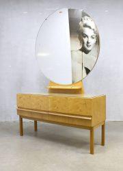 vintage vanity table XL mirror dressing table retro sixties