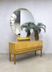 Vintage Dutch design vanity table dressing table sixties kaptafel