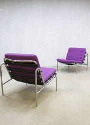 martin visser lounge stoelen midcentury vintage design