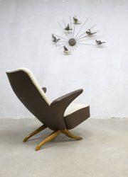 Vintage armchair Artifort Pinguin Congo Theo Ruth Dutch design Artifort