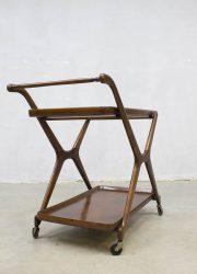 vintage deense drankentrolley danish trolley serveerwagen servingcart