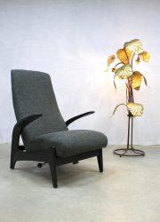 Vintage 'Rock 'n Rest' lounge chair recliner lounge fauteuil Gimson & Slater