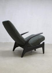 vintage midcentury modern armchair rocking chair Gimson & Slater