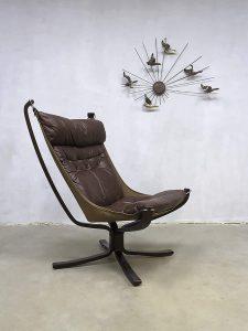 Vintage design falcon chair lounge fauteuil Sigurd Ressel Vatne Møbler
