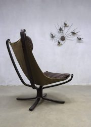 vintage midcentury design highback Falcon chair