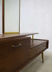 vintage retro kaptafel Deens Scandinavisch, Danish vanity table dressing table