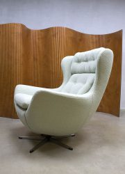Egg Chair Afmetingen.Vintage Design Swivel Wingback Chair Lounge Chair Egg Chair