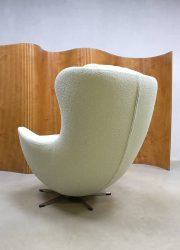 vintage lounge fauteuil retro egg chair rocking chair