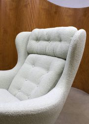 vintage egg chair retro Fritz Hansen stijl Arne Jacobsen style