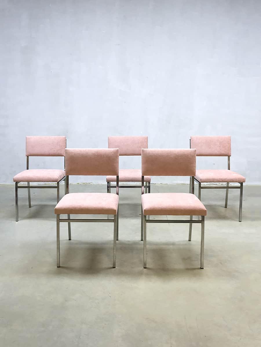 Dutch Design Eetkamerstoelen.Vintage Dutch Design Dinner Chairs Eetkamerstoelen Martin
