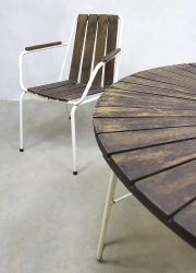vintage tuinstoel tuinstoelen industrieel Industrial garden chairs