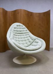 Vintage midcentury modern artifort swivel chair draaifauteuil 3