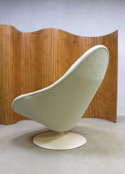 Midcentury modern vintage artifort swivel chair draaifauteuil 3