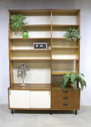 Vintage Pastoe wall unit made to measure Cees Braakman wandsysteem