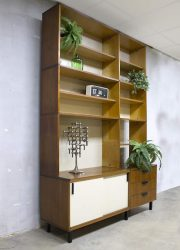 Vintage Pastoe wall unit wandkast made to measure Cees Braakman