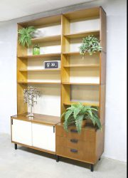 Vintage Pastoe wall unit made to measure Cees Braakman