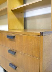 dutch design Vintage Pastoe wall unit made to measure Cees Braakman wandkast