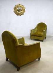 midcentury design club chair lounge fauteuil barok