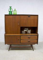 Vintage design highboard cabinet dressoir Webe Louis van Teeffelen