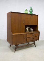 vintage dressoir wandkast sideboard cabinet Louis van Teeffelen Dutch design Webe