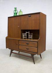 midcentury modern cabinet highboard dressoir wandkast vintage design Webe