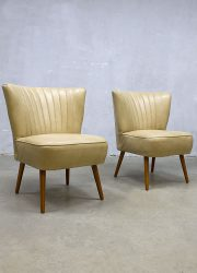 midcentury modern club chair cocktailstoel retro expo chair