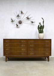 Danish vintage design chest of drawers sideboard dressoir ladenkast Danish Hovmand Olsen