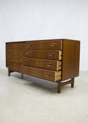 Danish vintage design sideboard dressoir Danish Hovmand Olsen