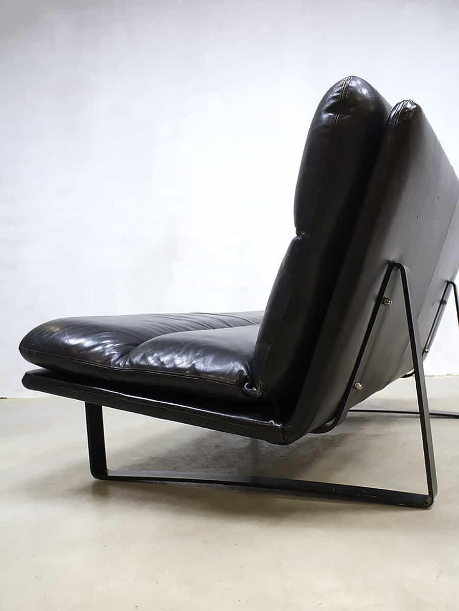 Bank Dutch Design.Vintage Dutch Design Leather Sofa Leren Lounge Bank Artifort Kho
