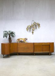 Midcentury modern sideboard cabinet A.A. Patijn Zijlstra dressoir