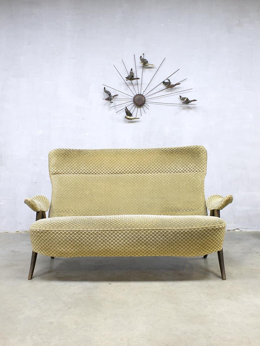 Tweezits Design Bank.Vintage Design Two Seats Sofa Tweezits Lounge Bank Artifort Theo Ruth