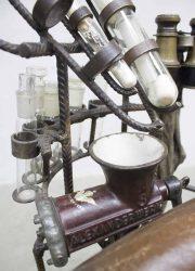 steampunk dieselpunt design chair art chair H. Dullaart
