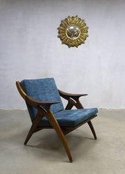 Vintage design lounge chair the Knot de knoop fauteuil De Ster Gelderland