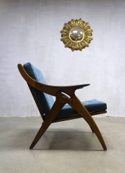 the Knot teak armchair de Ster Gelderland chair fauteuil de knoop