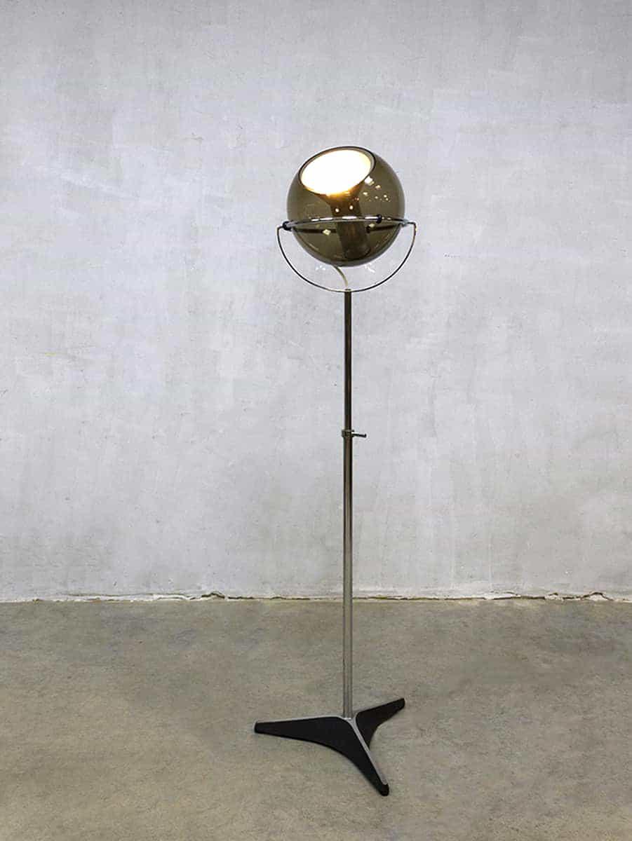 Vintage Dutch Design Globe Floor Lamp Vloerlamp Frank