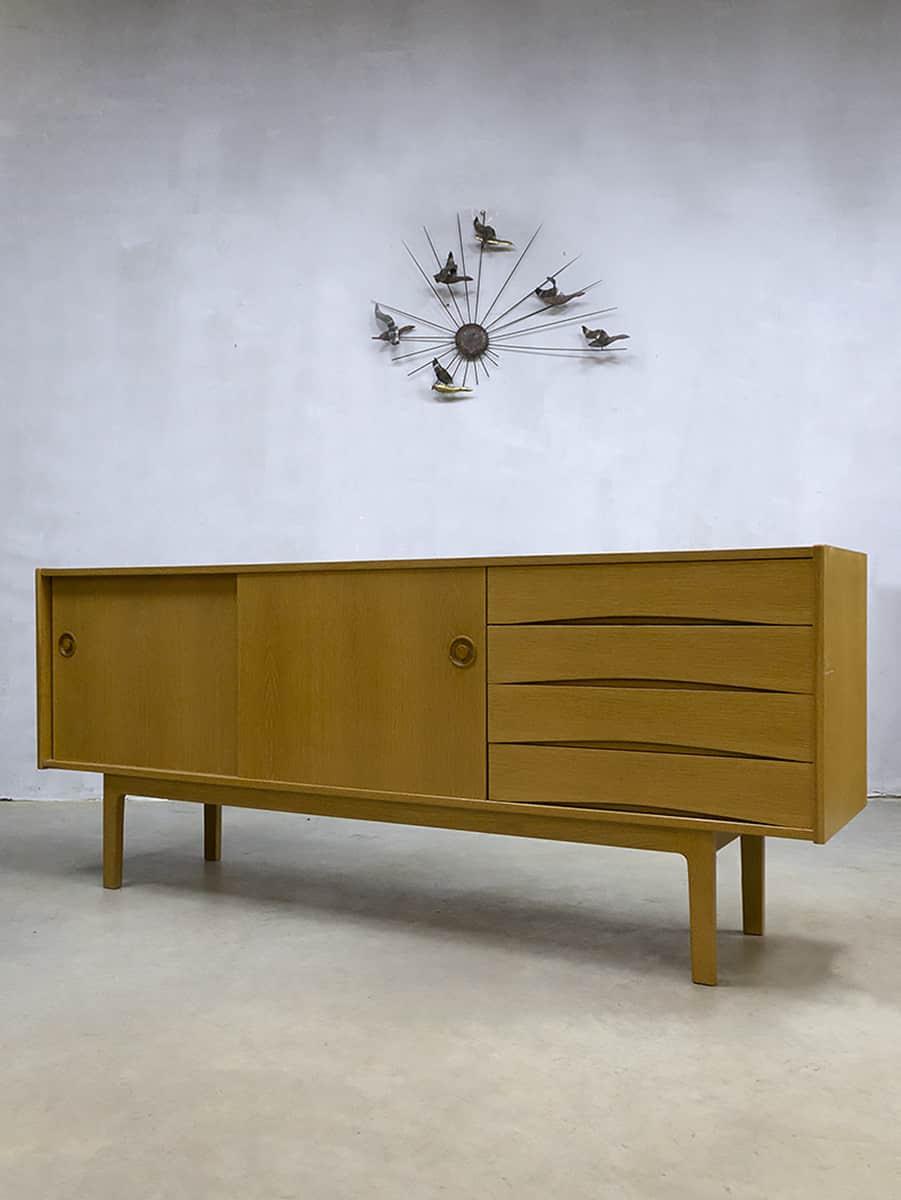 Vintage Danish Design Oak Sideboard Dressoir Arne Vodder Style