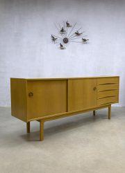 Vintage Danish design oak eiken sideboard dressoir Arne Vodder