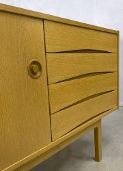 midcentury modern vintage design wandmeubel sideboard eiken oak dressoir