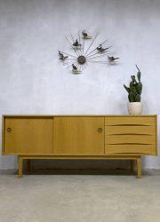 Vintage Danish design oak sideboard dressoir Arne Vodder