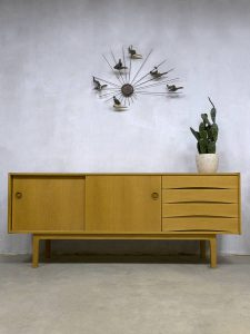 Vintage Danish design oak sideboard dressoir Arne Vodder