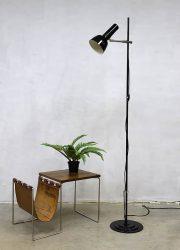 Vintage sixties floor lamp madmen style industriële vloerlamp